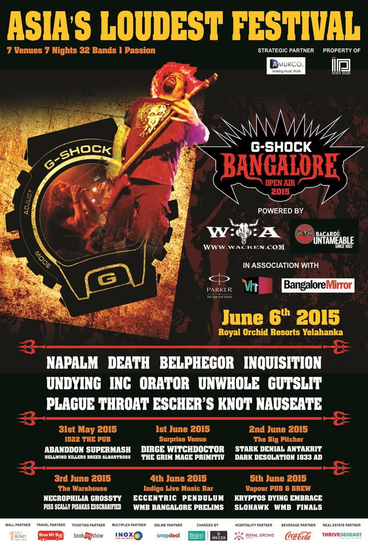 Bangalore Open Air - Amurco | Contest